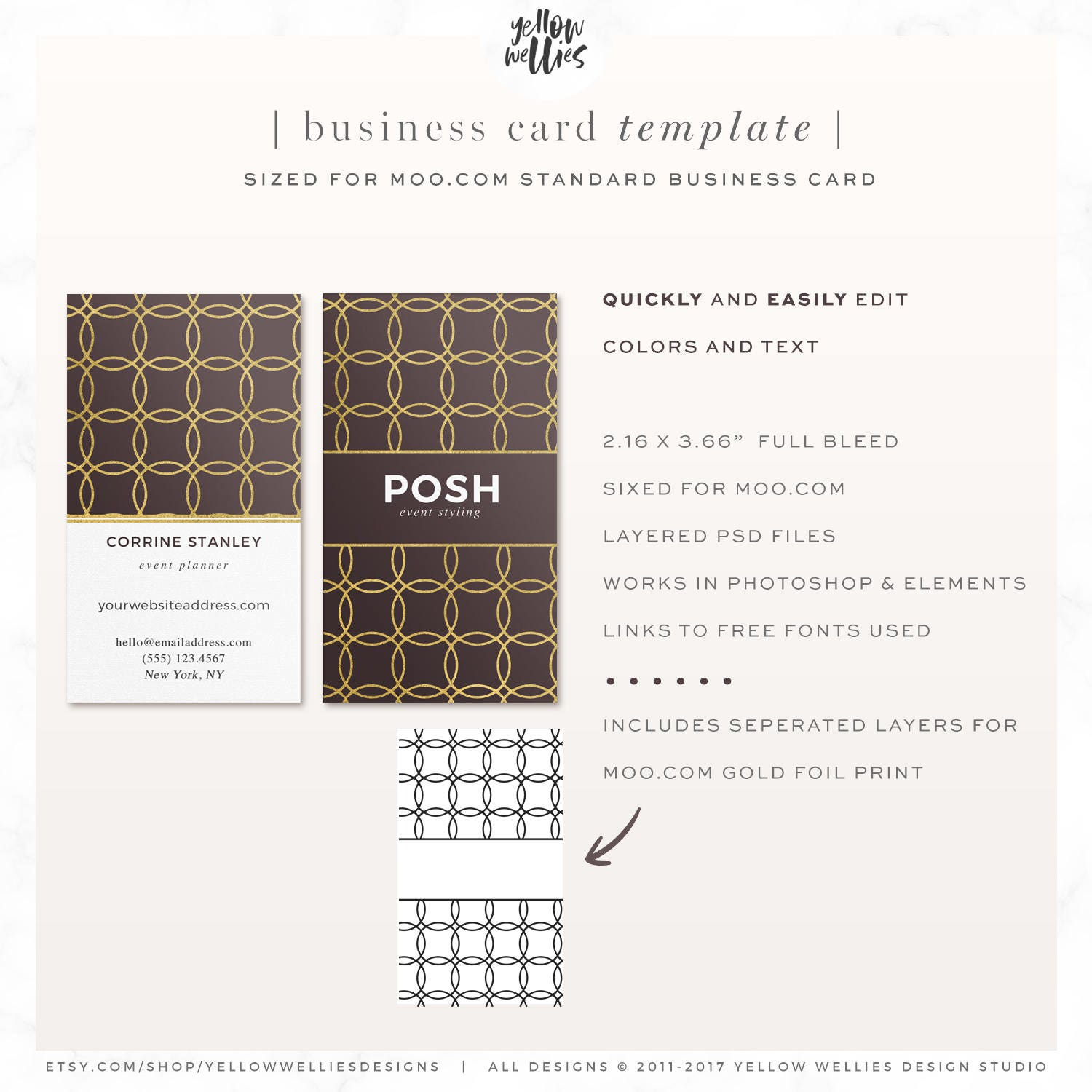 Gold foil business card template moo template moo gold foil gold foil business card template moo template moo gold foil photoshop template reheart Images