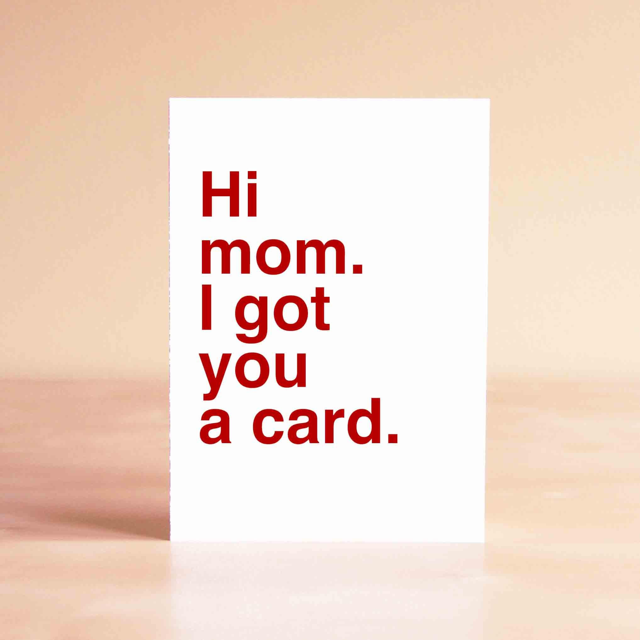 Funny Mother s Day Card Mom Birthday Card Happy Mother s Day