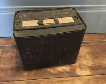 Vintage Metal Egg Carrying Box,Six Dozen,Metal Egg Crate