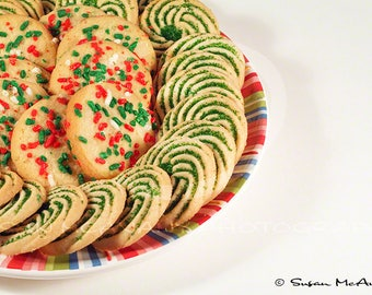 Clip Art Holiday Photo, Christmas Cookies Photo, Instant Download, Scrapbooking, Stock Photo, Red, Green, Digital Download, Background Photo