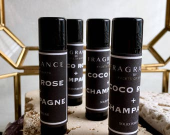 Coco Rose + Champagne Solid Perfume
