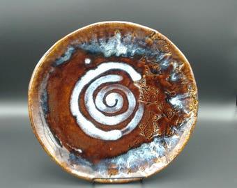 Swirl Fish Plate