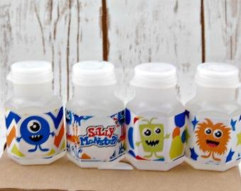 Monster Bubbles, Party Favor Bubbles, Little Monsters Party Favor