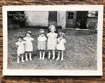 Original Antique Photograph | Girls Rule