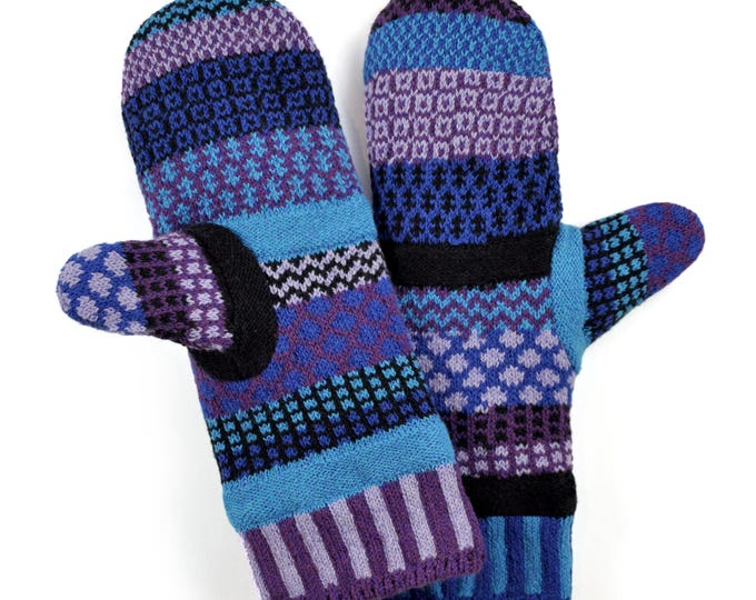 Solmate Accessories - Raspberry Fleece Lined Mittens Limited - Available to order through midnight November 27th!