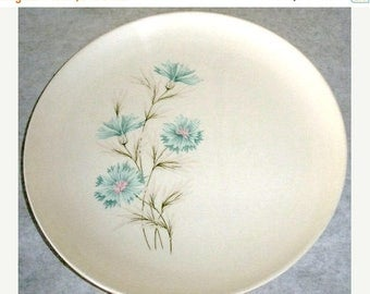 ON SALE Vintage Taylor Smith & Taylor Boutonniere 1962 Set of 4 Dinner Plate Made in the USA Every Yours China Plate