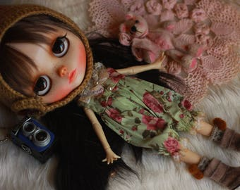 OOAK - Overall - Old Doll - Vintage Style by Cutie Store