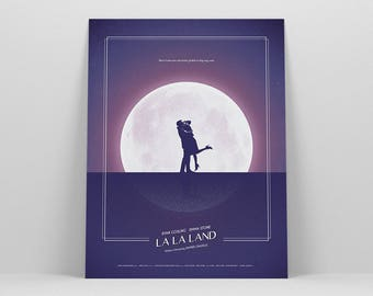 La La Land Poster ~ Movie Poster, Film Gift, Art Print by Christopher Conner