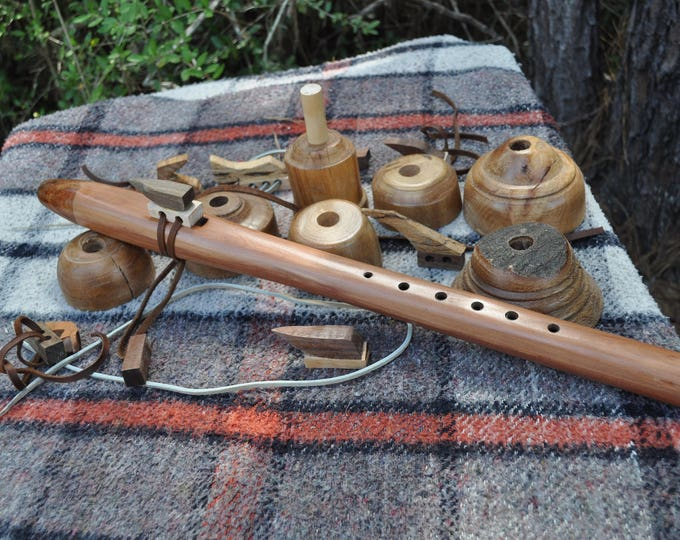 Native American Style F scale Western red Cedar/flute BY CRAZY BEAR