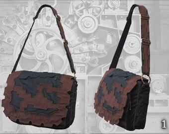 Tesla Shoulder Bag - a steampunk design