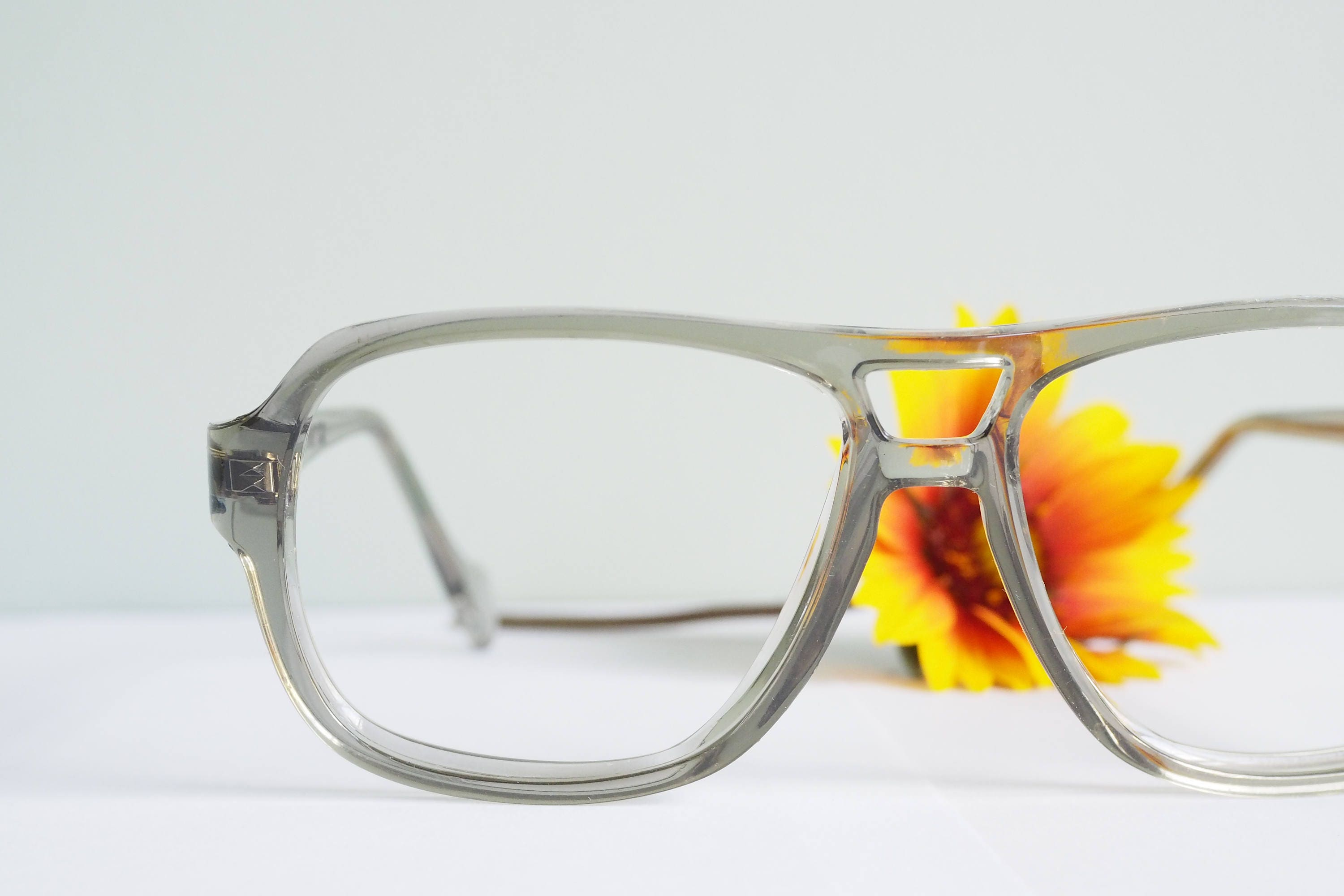 Vintage 1970\'s Aviators By Titmus Grey Smoke Frames New Old Stock ...