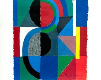 Sonia Delaunay-Viertel-1986 Poster