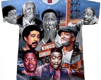 Kings Of Comedy. Bernie Mac T shirt. Redd Foxx T Shirt.