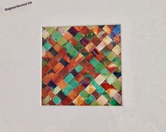 WOVEN ALCOHOL INK 2
