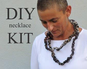 Black Jewelry, Handmade Jewelry Ideas, Jewelry Making Tutorials, Jewelry Findings, DIY Gifts, DIY Gifts For Friends, Fabric Jewelry