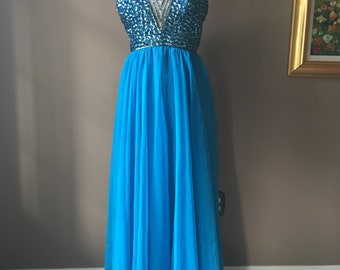 Vintage Mike Benet Prom Dress Gown
