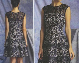 Vogue V1393 KayUnger Dress Pattern Size A5 (6-18-10-12-14)