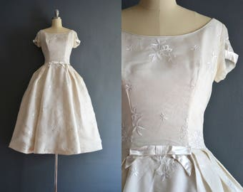 Ada / 50s wedding dress / vintage wedding dress