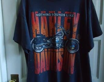 Vintage 90s HARLEY DAVIDSON Biker T Shirt sz L
