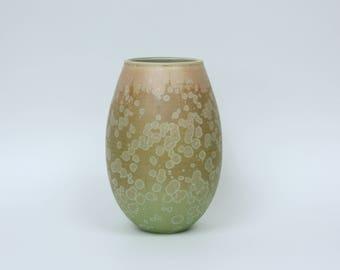 Matte Crystalline Flower Vase