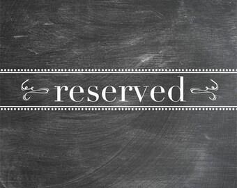 Reserved Tania Kratt