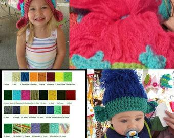 Custom troll hat/Your color choice/design your own/troll photo prop/troll costume/troll inviation/troll party/troll wig/trolls wig