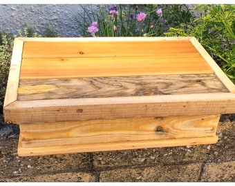 Rustic Reclaimed Wood Box Country Shabby Chic