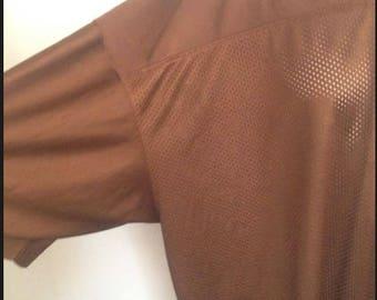 oversized mesh football jersey