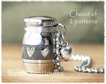 Cremation Jewelry • Urn Necklace • Cremation Necklace • Loss Of Loved One • Memorial Jewelry • Remembrance Pendant