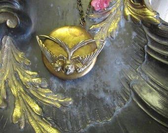 Locket necklace romantic L ' Hirondelle