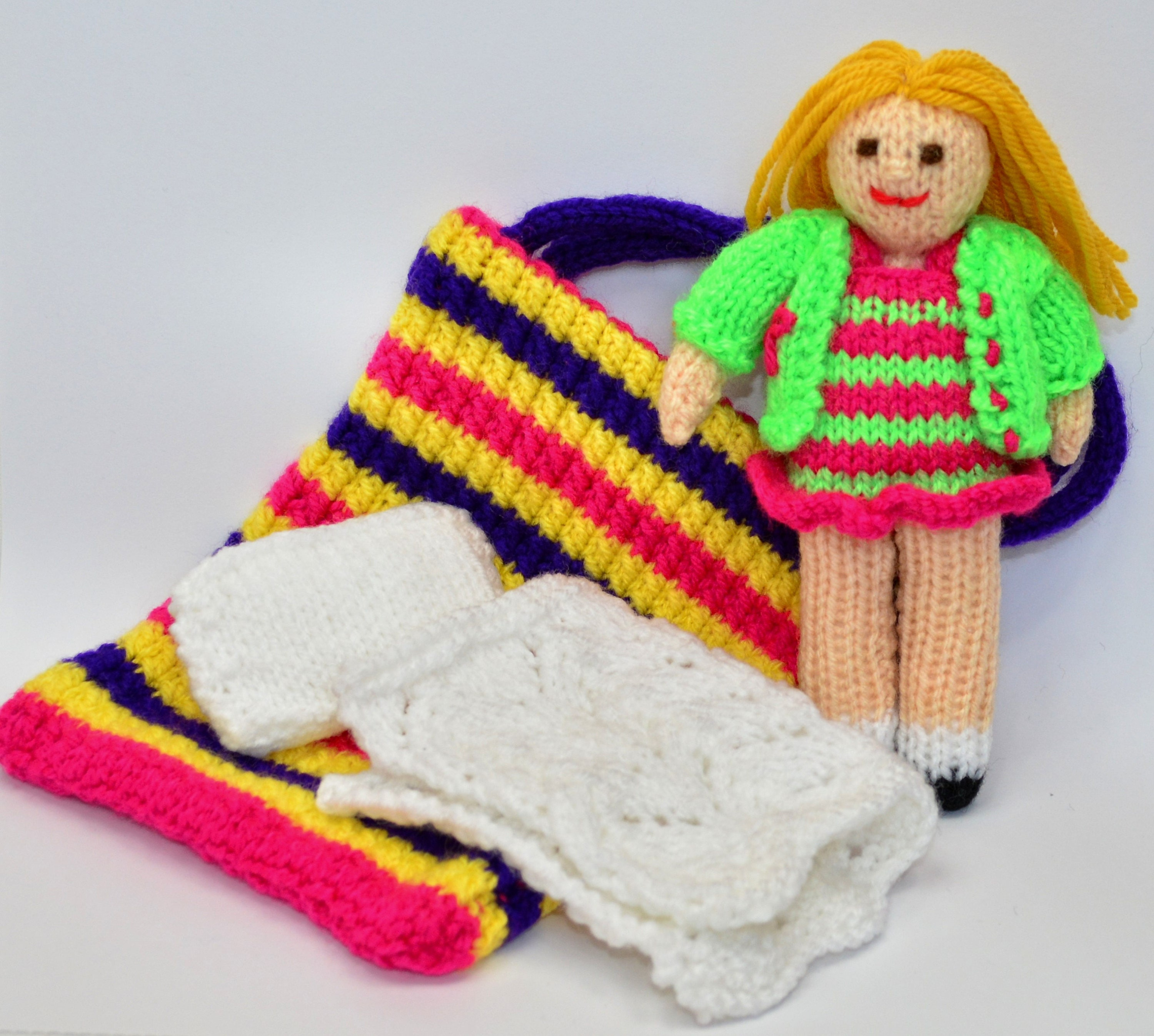Rag doll pattern doll knitting pattern toy knitting pattern this is a digital file bankloansurffo Image collections
