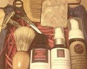 Sandalwood Beard Grooming Kit