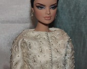 custom order for Barbara. Outfit for Classic Fashion Royalty doll.