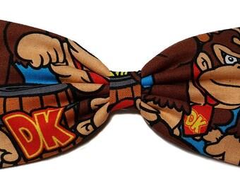 Donkey Kong Hair Bow