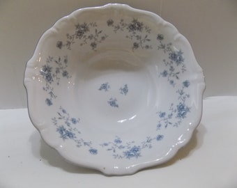 "Johann Haviland BLUE GARLAND Bavaria Germany 8 1/2"" Round Vegetable Serving Bowl"