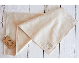 maxi towels zero waste eco-friendly reusable washable sponge and unbleached organic cotton
