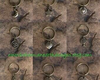 Keychain - Gifts Under 5 - Christmas Stocking Stuffers - Bronze
