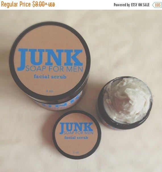 On Sale Facial Sugar Scrub, Exfoliating Cleanser Designed Just for Men