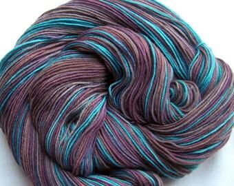 Superwash Merino/Nylon Sock Yarn 463 yards Hand Painted