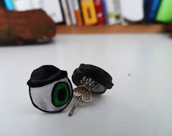 """Earrings collection """"eye""""."""