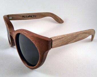 Wood Sunglasses Retro Chic