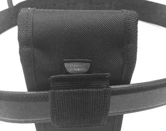 """This Universal Belt Cell Phone Holster has no clip to break. can be worn horizontal or vertical. . Case dimensions 3.25"""" X 6"""" X 0.75"""""""