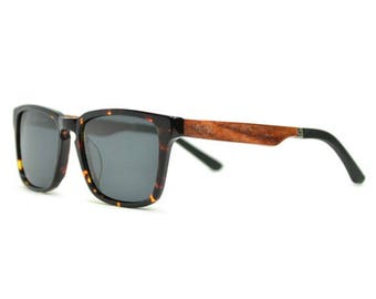 Real Wood Sunglasses | Men's Wooden Sunglasses | Rosewood Sunglasses Wayfarer style