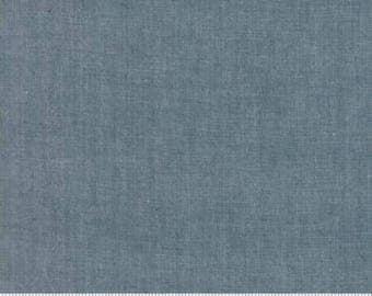 Gray Chambray Fabric from Moda Fabric Modern Chambray Modern Grey Fabric Cotton Material Modern Quilt Fabric Moda Chambray Material