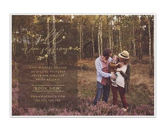 MB27 :. Fall Mini Session template | fall Minis