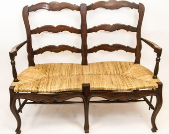 French Country Style Settee