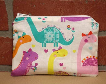 One Snack Sack, Reusable Lunch Bags, Waste-Free Lunch, Machine Washable, Dinosaur, Back to School, School Lunch, item #SS66