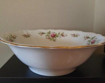Johann Haviland moss rose vegtable bowl