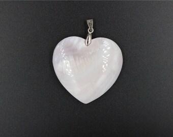 chic pendant  shell bulging heart  top quality