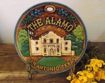 The Alamo San Antonio Texas Alamo Souvenir Plate Texas Souvenir San Antonio Souvenir